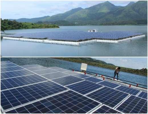 floating solar power plant design course