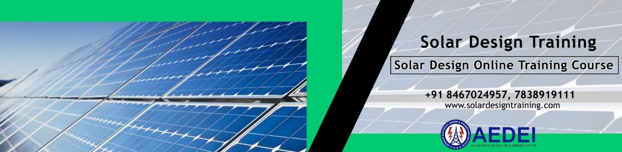 Solar plant Design Course | online solar design classes, Delhi